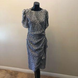 Dresses & Skirts - Vintage dress. 70s wrap dress. Peplum skirt